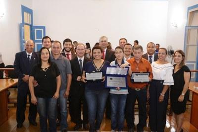 Sessão Solene - Diploma de Honra ao Mérito