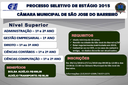 Ed. 01-2015 - Prorrogação do período de inscrição