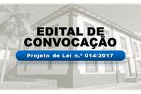 Edital de Convocação LDO-LOA 2018