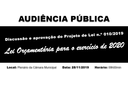 Edital de Convocação PL 10/2019