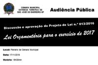 Edital de Convocação PL 13/2016