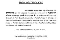 Edital de Convocação PL 07/2015